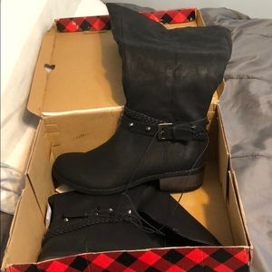 Shoes - Black Long Boots BRAND NEW